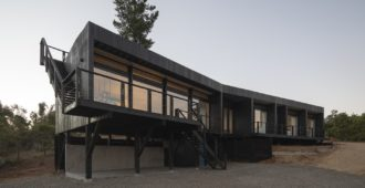 Chile: Casa Puertecillo - Estudio Base Arquitectos