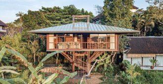 Indonesia: Casa del árbol en Ubud, Bali - Alexis Dornier / Stilt Studios
