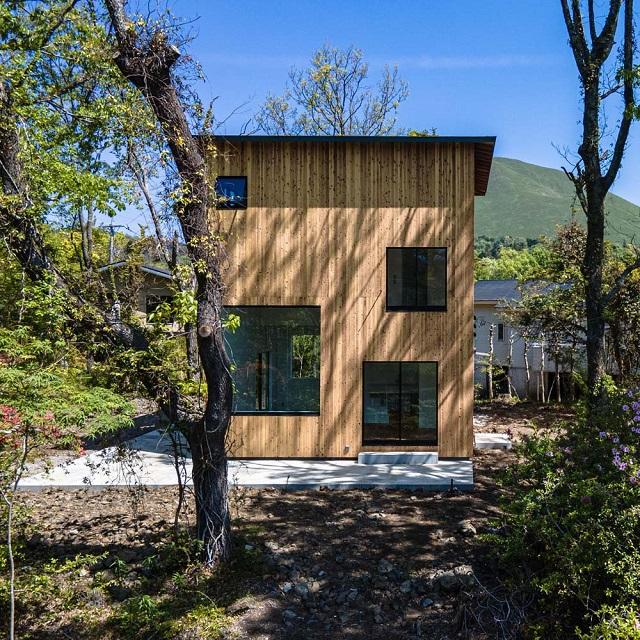 Japón: Casa en Izu-Kogen - Florian Busch