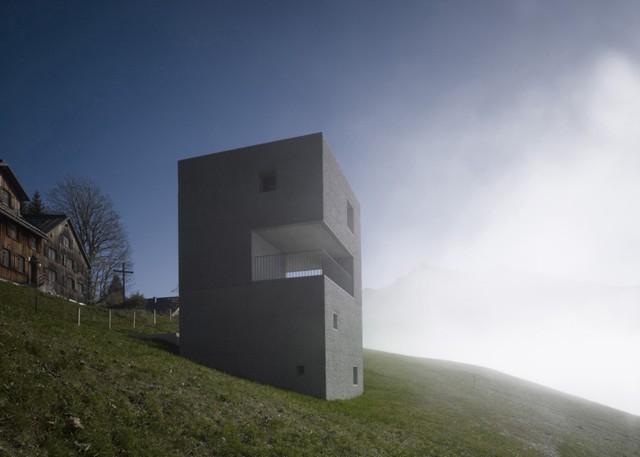 Austria: Casa en la Montaña - marte.marte architects