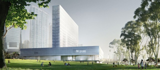 'M+ museum' en Hong Kong - Herzog & de Meuron