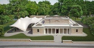 'Serpentine Sackler Gallery', Londres - Zaha Hadid Architects