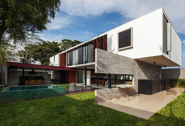 Brasil: Casa Planalto, São Paulo - FC Studio