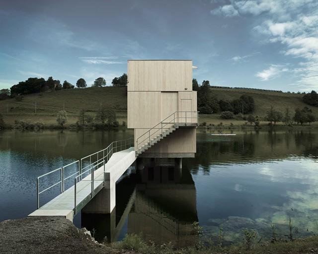 Suiza: Refugio sobre el lago Rotsee - AFGH Architekten
