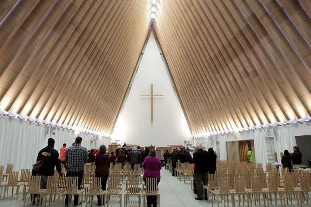 Nueva Zelanda: Inaugurada la Catedral de cartón en Christchurch - Shigeru Ban