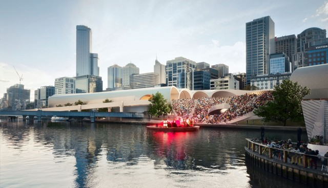 Australia: HASSELL + Herzog & de Meuron, the winners of the Flinders Street Station Design Competition in Melbourne