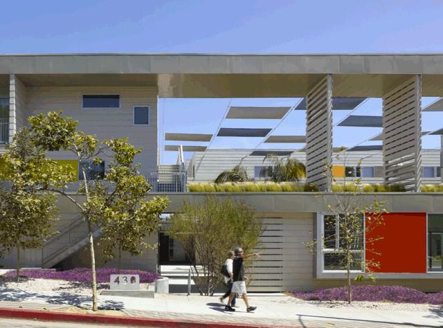 Pico Place, Santa Monica, California - Brooks Scarpa Architects
