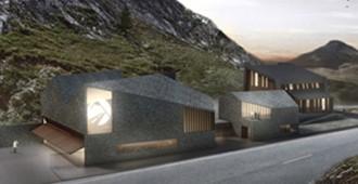 Concurso Centro Espacio Portalet, antigua aduana España-Francia - Magén Arquitectos