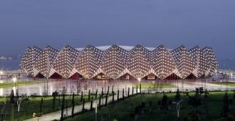 Azerbaiyán: Baku Crystal Hall - GMP Architekten