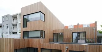 Holanda: Casas en la calle Wenslauer, Amsterdam - M3H architecten