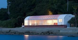 Japón: Restaurante a orillas del mar, Kagawa - Koichi Futatusmata, Yasushi Arikawa