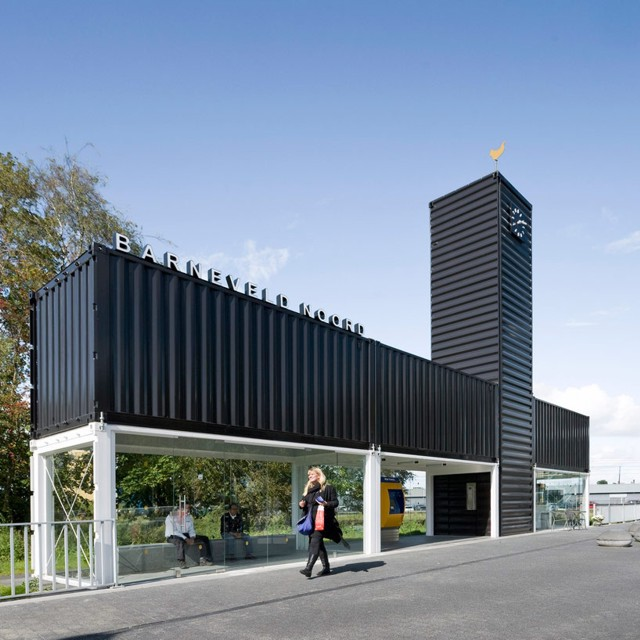 Holanda: Barneveld Noord Station - NL Architects