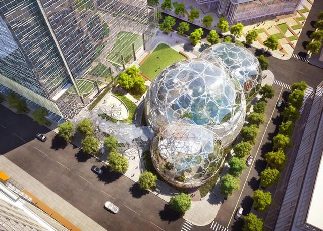 Estados Unidos > Nueva sede corporativa de Amazon en Seattle - NBBJ