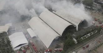 Brasil: Un incendio destruyó el 90% del auditorio Simón Bolivar en el  Memorial de América Latina diseñado por Oscar Niemeyer