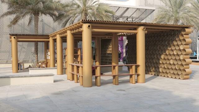 'Abu Dhabi Art Pavilion' - Shigeru Ban