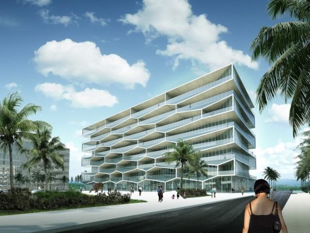 'Honeycomb Building', Bahamas - BIG