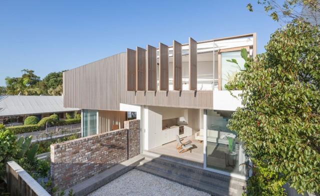 Australia: 'Balmain Houses',  Sydney - Benn + Penna