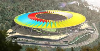 Venezuela: Estadio Nacional de Fútbol, Caracas - Rogers Stirk Harbour + Partners