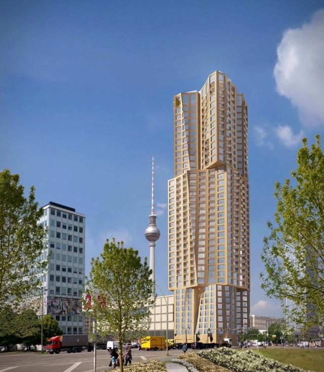 Frank Gehry elegido para diseñar la torre más alta de Berlín