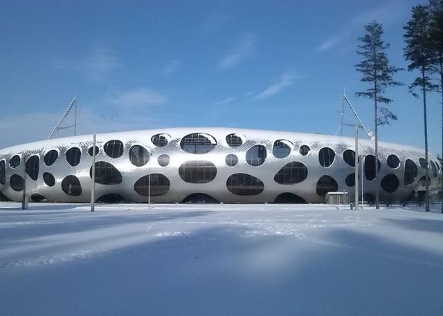 Bielorrusia: Estadio de fútbol 'FC BATE Borisov' - OFIS Arhitekti