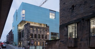 'Reid Building', Glasgow School of Art - Steven Holl Architects