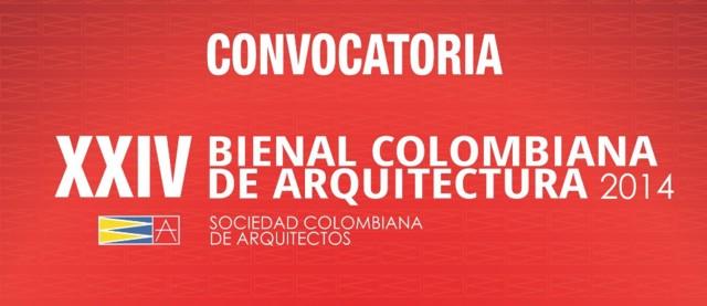 Convocatoria, XXIV Bienal Colombiana de Arquitectura