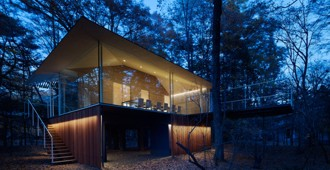 Japón: Casa en el bosque - Kengo Kuma and Associates
