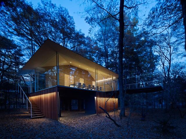 Japón: Casa en el bosque - Kengo Kuma and Associates