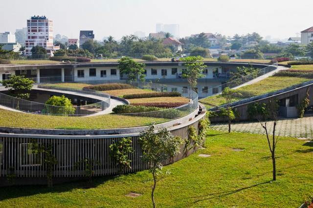 Vietnam: 'Farming Kindergarten', Dong Nai - Vo Trong Nghia Architects