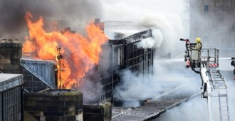 Incendio en la 'Glasgow School of Art' de Charles Rennie Mackintosh