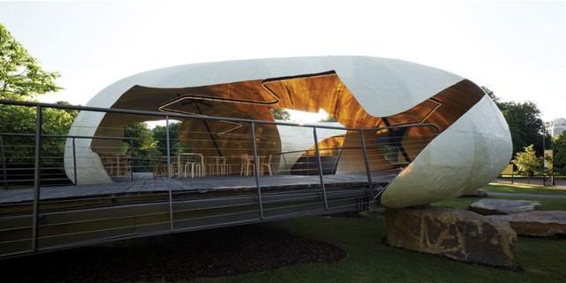 Londres: Imágenes del Serpentine Gallery Pavilion 2014, Smiljan Radic