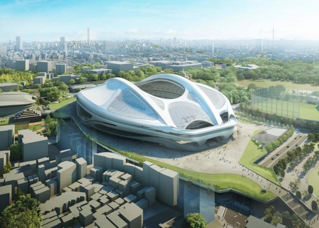 Tokio 2020: Cambios en el diseño del Nuevo Estadio Nacional de Japón - Zaha Hadid Architects