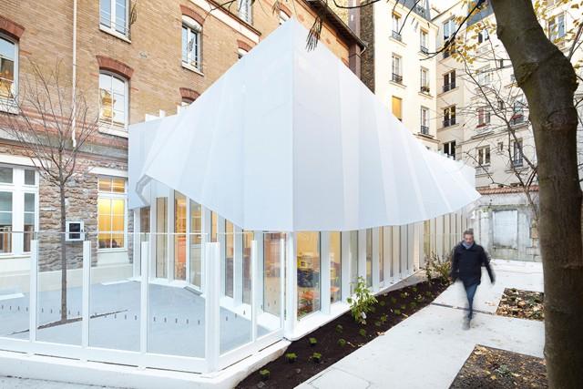 Francia: Guardería Épée de Bois, París - h2o architectes