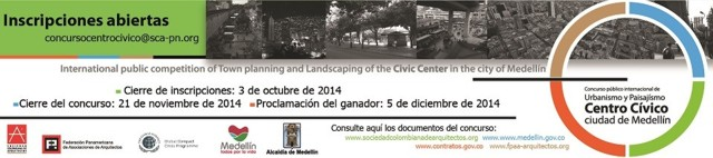 Colombia: Concurso Público Internacional Centro Cívico de Medellín