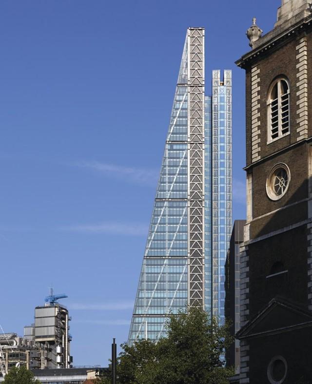 'Leadenhall Building', Londres - Rogers Stirk Harbour + Partners