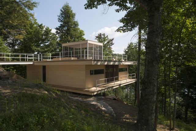 Canadá: Le Grand Plateau, Lago Hurón - Atelier Pierre Thibault