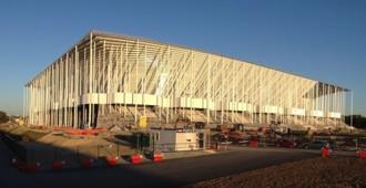 Francia: Nuevo Estadio de Bordeaux - Herzog & de Meuron... imágenes de las obras