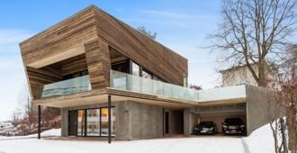 Noruega: Casa Tønsberg - Vårdal Arkitekter