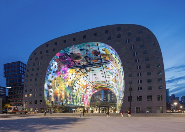 Holanda: Inauguración del 'Markthal Rotterdam' - MVRDV