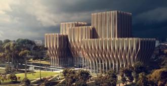 Video: Sleuk Rith Institute, Camboya - Zaha Hadid