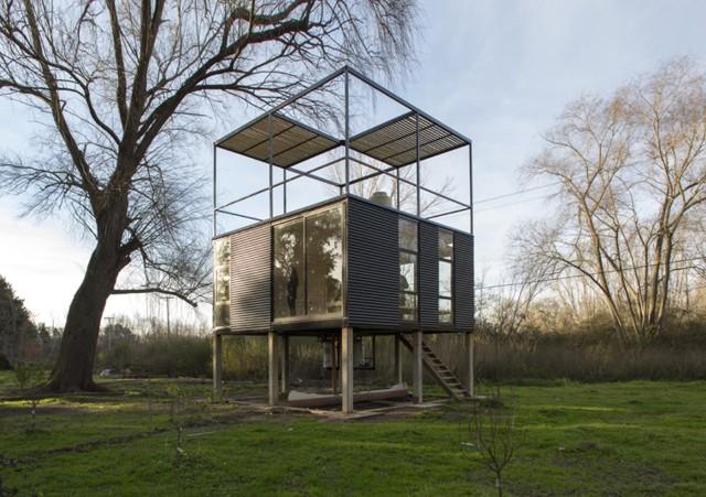 Argentina: Cabaña Delta - AToT-Arquitectos Todo Terreno