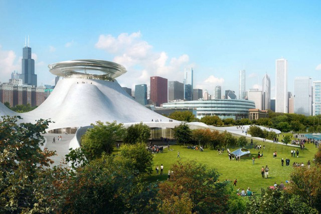 'Lucas Museum of Narrative Art', Chicago - MAD Architects