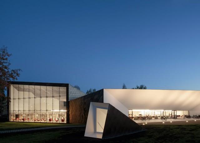 Finlandia: Biblioteca Pública de Seinäjoki - JKMM Architects