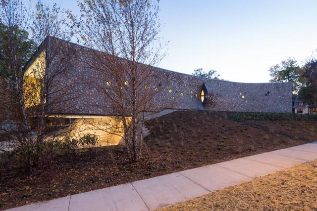 'Arcus Center for Social Justice Leadership', Kalamazoo, Michigan - Studio Gang Architects
