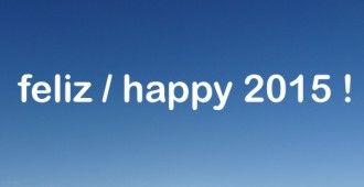 Feliz / Happy 2015!