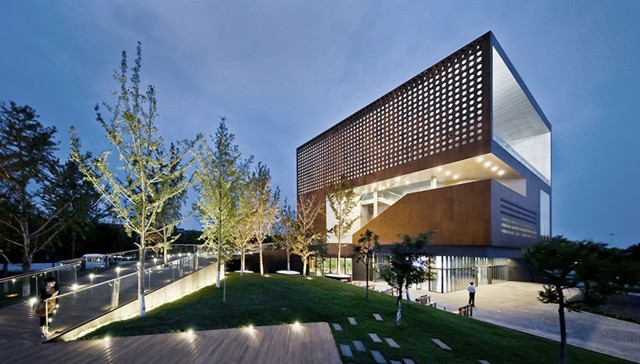 China: 'Vanke Center', Bayuquan - Vector Architects