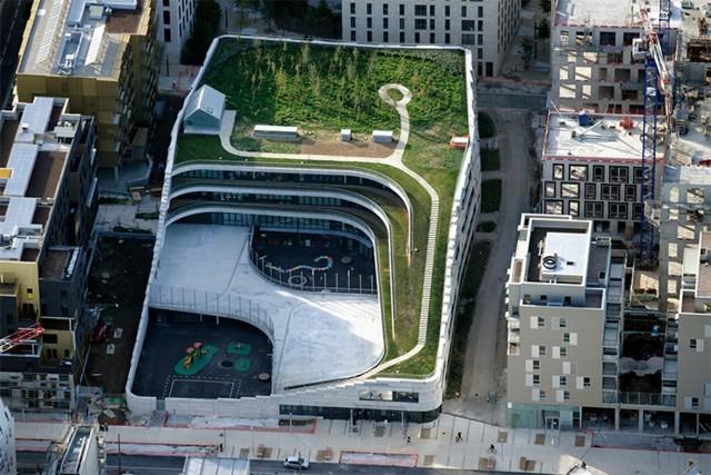 Francia: Escuela de Ciencias y Biodiversidad, París - Chartier Dalix Architectes