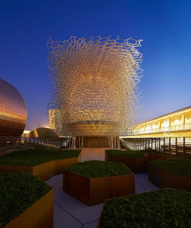 Expo Milán 2015: Pabellón de Gran Bretaña - Wolfgang Buttress + Tristan Simmonds