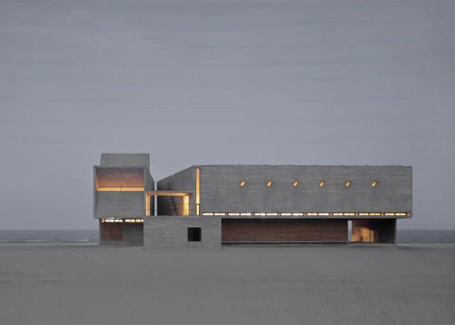 China: Una biblioteca a orillas del mar - Vector Architects
