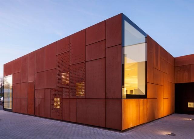 Ampliación Biblioteca de Sint-andries, Brujas - Studio Farris Architects